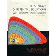 Elementary Differential Equations With Boundary Value Problems,9780130113016