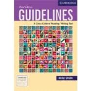 Guidelines: A Cross-Cultural Reading/Writing Text,9780521613019