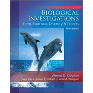 Biological Investigations Lab Manual,9780073383057