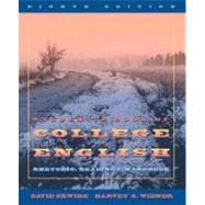 Student's Book of College English: Rhetoric, Readings, Handbook,9780205283064