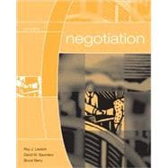 Negotiation,9780072973075