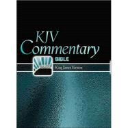 KJV Commentary Bible: King James Version, Black Dual-Grained Bonded Leather, Red-Letter, Large Print,9780529123077