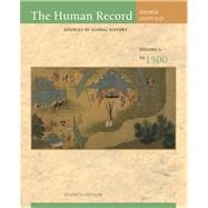 The Human Record Sources of Global History, Volume I: To 1500,9780495913078
