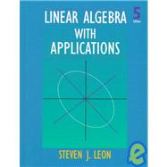 Linear Algebra With Applications,9780138493080