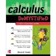 Calculus Demystified,9780071393089