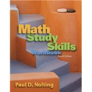 Math Study Skills Workbook,9780840053091
