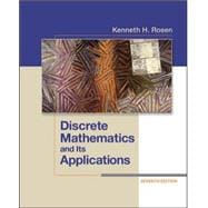 Discrete Mathematics and Its Applications,9780073383095