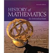 The History of Mathematics: An Introduction,9780073383156