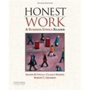 Honest Work : A Business Ethics Reader,9780195383157