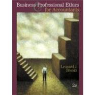 Business and Professional Ethics for Accountants,9780324013160