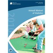 Annual Abstract of Statistics 2010, 9780230243163  