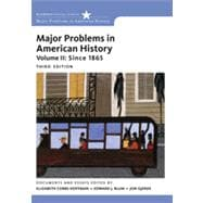 Major Problems in American History, Volume II,9781111343163