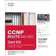 CCNP ROUTE 642-902 Cert Kit: Video, Flash Card, and Quick Re..., 9781587203176  