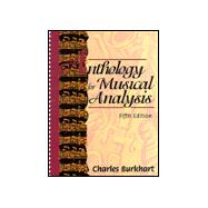 Anthology for Musical Analysis,9780030553189