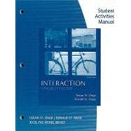 Workbook with Lab Manual for St. Onge/St. Onge's Interaction