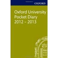 Oxford University Pocket Diary 2012-2013,9780199653195