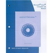 Microsoft Excel Computer Lab Manual for Waner/Costenoble's Applied Calculus, 5th,9780538733205