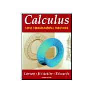 Calculus: Early Transcendental Functions,9780395933206