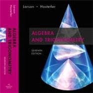 Algebra and Trigonometry : Text