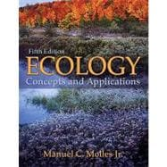 Ecology : Concepts and Applications, 9780073383224  