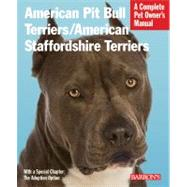American Pit Bull Terriers/American Staffordshire Terriers: ..., 9780764143229  