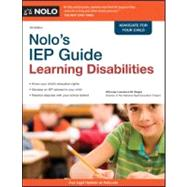 Nolo's IEP Guide : Learning Disabilities, 9781413313239  