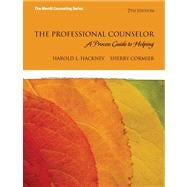 The Professional Counselor A Process Guide to Helping Plus MyCounselingLab with Pearson eText -- Access Card Package