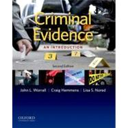 Criminal Evidence : An Introduction, 9780199783243