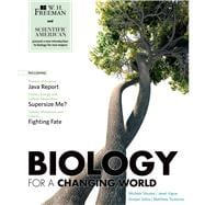 Scientific American Biology for a Changing World,9780716773245
