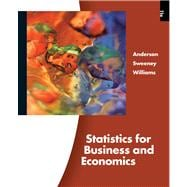 Statistics for Business and Economics (with Printed Access C..., 9780324783247  