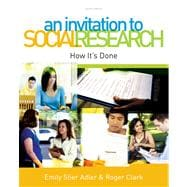 An Invitation to Social Research How It's Done,9780495813293