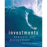 Investments : Analysis and Management, 9781118363294