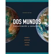 Dos Mundos PLUS package for Students – (Color loose leaf print text, e-book, online WB/LM)