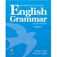 Understanding and Using English Grammar (with Answer Key and Audio CDs),9780132333313