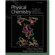 Physical Chemistry Principles and Applications in Biological Sciences Plus MasteringChemistry with Pearson eText  -- Access Card Package,9780321883315