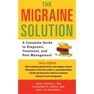 The Migraine Solution: A Complete Guide to Diagnosis, Treatment, and Pain Management,9780312553319