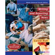 Writing and Reporting News: A Coaching Method, Media Enhanced,9780534633332