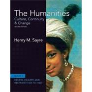 The Humanities Culture, Continuity and Change, Book 4: 1600 to 1800,9780205013333