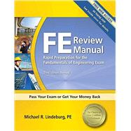 FE Review Manual : Rapid Preparation for the Fundamentals of Engineering Exam,9781591263333