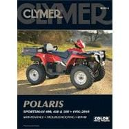 Polaris Sportsman 400, 450 And 500, 1996-2010, 9781599693361  