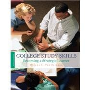 College Study Skills : Becoming a Strategic Learner,9781413033366