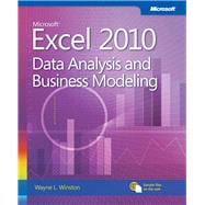 Microsoft Excel 2010 : Data Analysis and Business Modeling,9780735643369