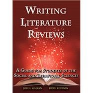 Writing Literature Reviews