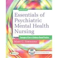 Essentials of Psychiatric Mental Health Nursing: Concepts of Care in Evidence-Based Practice (Book with CD-ROM),9780803623385