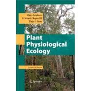 Plant Physiological Ecology,9780387783406
