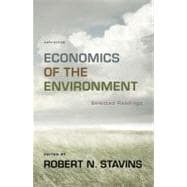 Economics of the Environment: Selected Readings (Sixth Edition),9780393913408