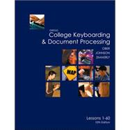 Gregg College Keyboarding &amp; Document Processing (GDP), Lessons 1-60 text