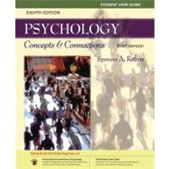 Student User Guide and PsykTrek 3.0 Enhanced Edition Printed Access Card for Rathus' Psychology: Concepts & Connections, Brief Edition, 8th,9780840033413