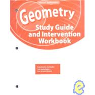 Geometry, Study Guide and Intervention Workbook