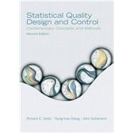 Statistical Quality Design and  Control,9780130413444